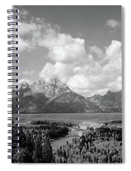 1960s Snake River Bend In Grand Teton Spiral Notebook