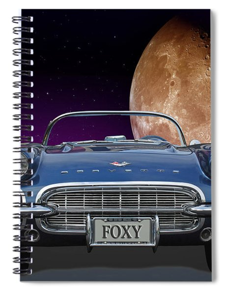 1961 Corvette Spiral Notebook