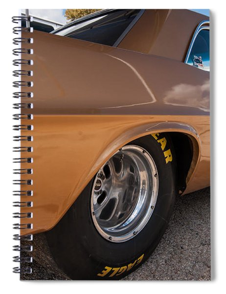 1963 Pontiac Lemans Race Car Spiral Notebook
