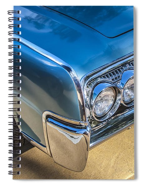 1964 Lincoln Continental Convertible  Spiral Notebook