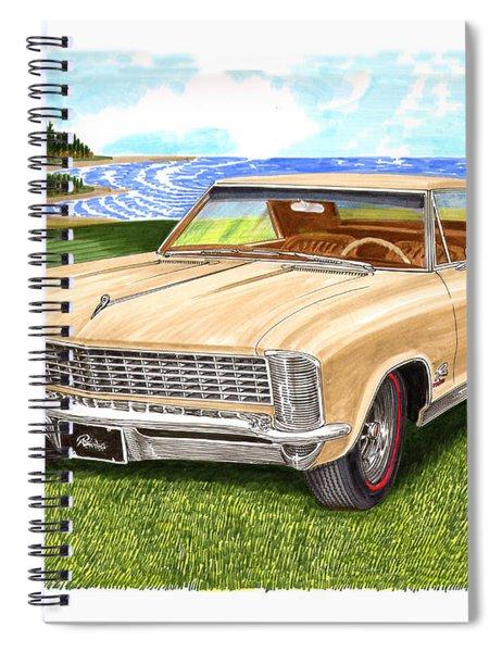 1965 Buick Riviera G S Spiral Notebook