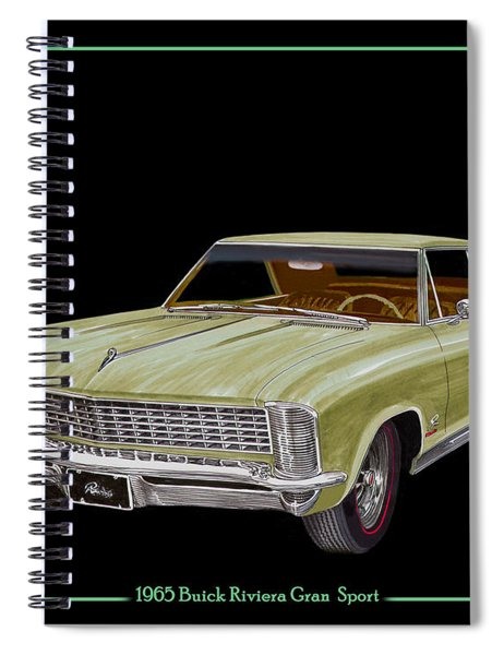 1965 Buick Riviera Gran Sport Spiral Notebook