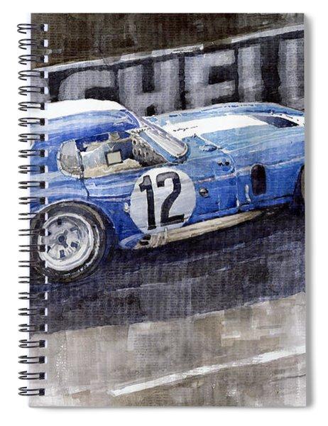 1965 Le Mans  Daytona Cobra Coupe  Spiral Notebook