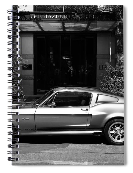 1967 Shelby Mustang B Spiral Notebook