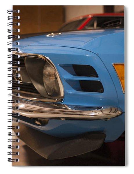 1970 Mustang Mach 1 And Other Classics Hidden In A Garage Spiral Notebook
