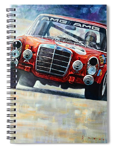 1971 Mercedes-benz Amg 300sel Spiral Notebook