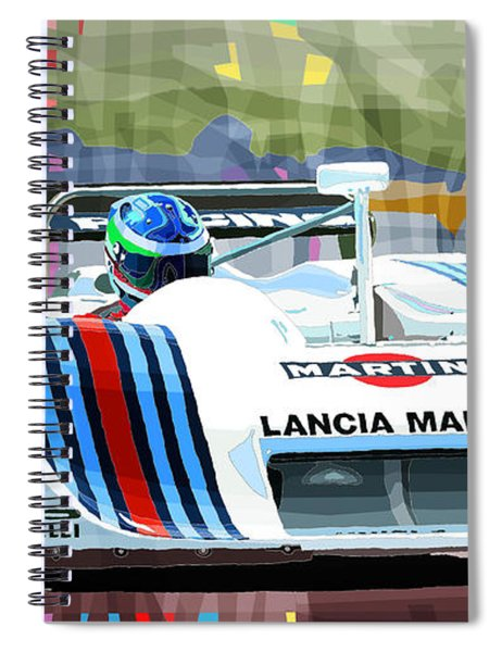 1982 Lancia Lc1 Martini Spiral Notebook