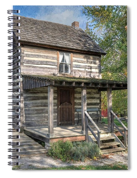 19th Century Cabin Spiral Notebook
