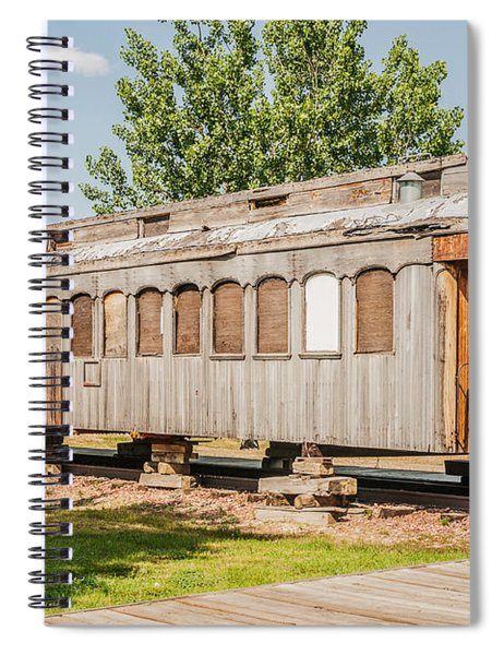 19th Century Drover Car Spiral Notebook