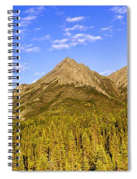 Alaska Mountains Spiral Notebook