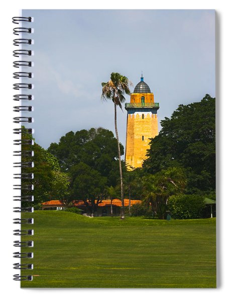 Spiral Notebook featuring the photograph Alhambra Water Tower by Ed Gleichman