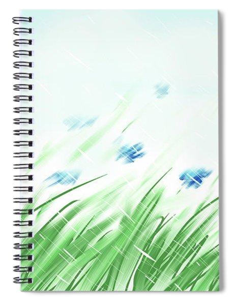 April Shower Spiral Notebook
