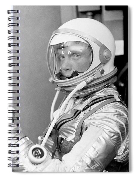 Astronaut John Glenn - Mercury Atlas 6 Spiral Notebook