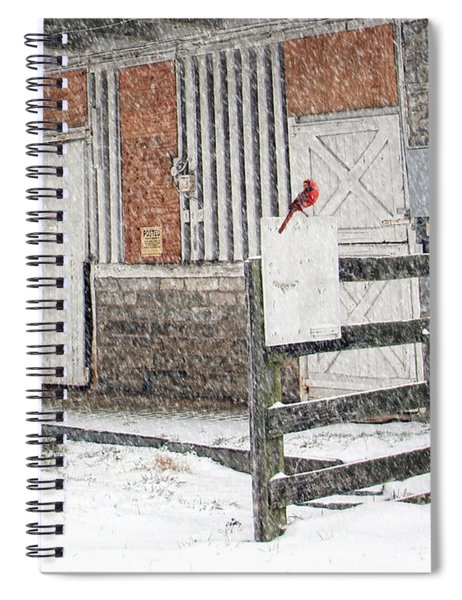 Weathering The Storm Spiral Notebook