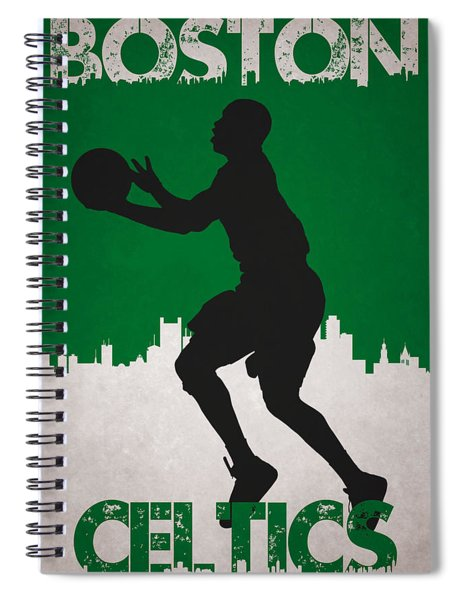 Boston Celtics Spiral Notebook