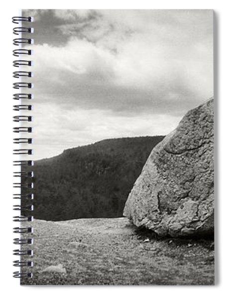 Boulder Along The Gertrudes Nose Spiral Notebook