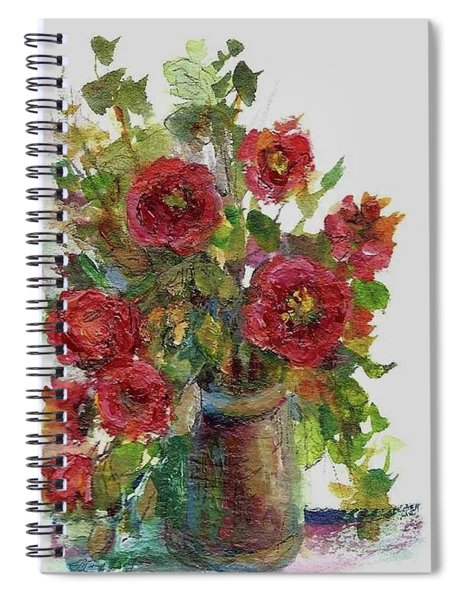 Bouquet Of Poppies Spiral Notebook