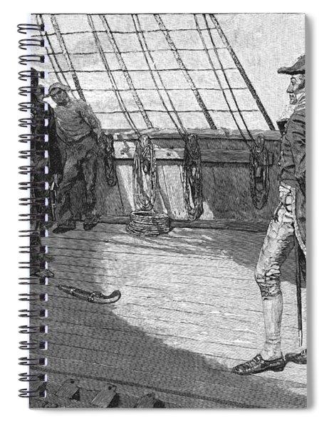 British Impressment, 1807 Spiral Notebook