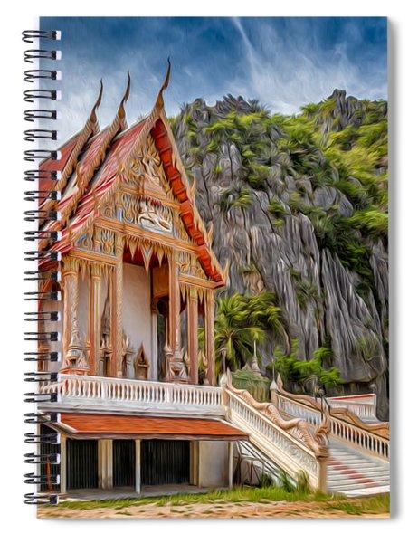 Buddhist Temple Spiral Notebook
