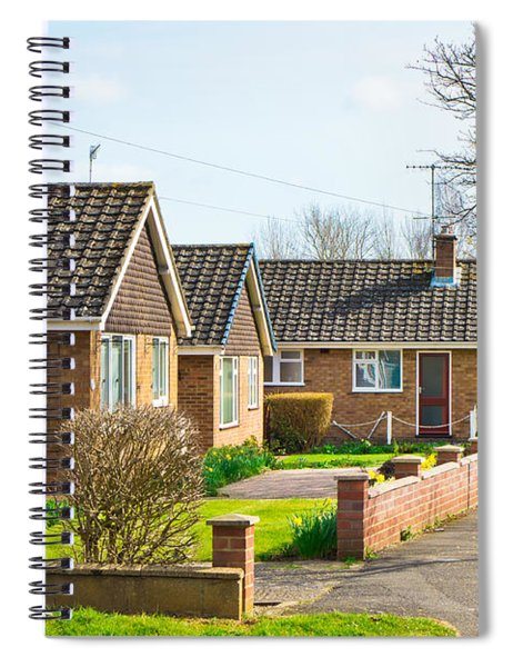Bungalows Spiral Notebook