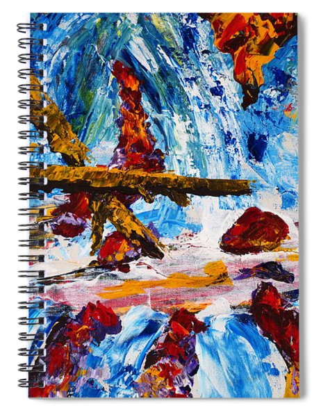 Burch Creek Run-off Spiral Notebook