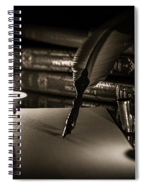 Candlelight Fantasia Spiral Notebook