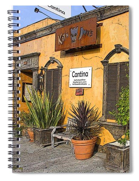 Cantina Spiral Notebook