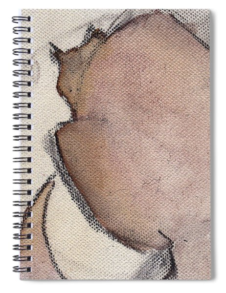 Cat In Wine 1 Spiral Notebook