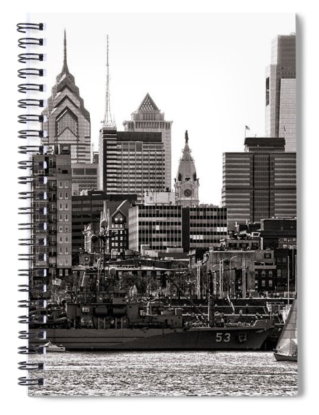 Center City Philadelphia Spiral Notebook