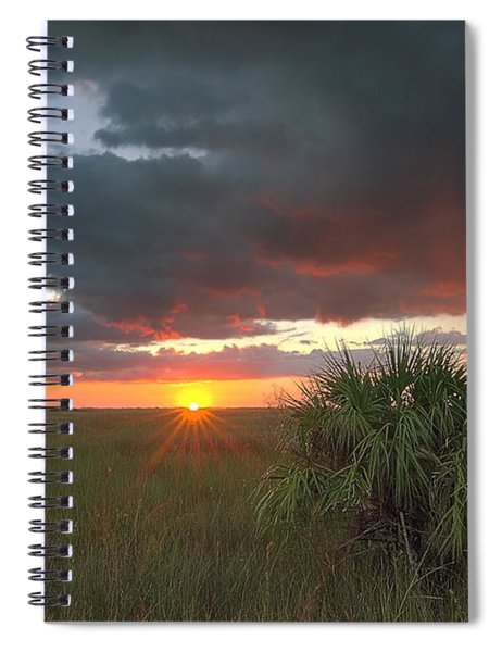 Chekili Sunset Spiral Notebook