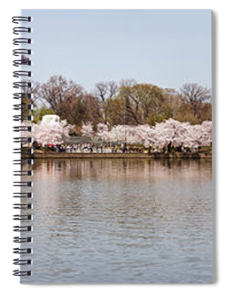 Cherry Blossom Trees Near Martin Luther Spiral Notebook