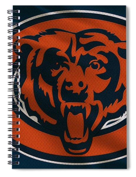 Chicago Bears Uniform Spiral Notebook