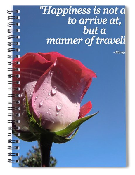 Choose Your Quote Choose Your Picture 23 Spiral Notebook