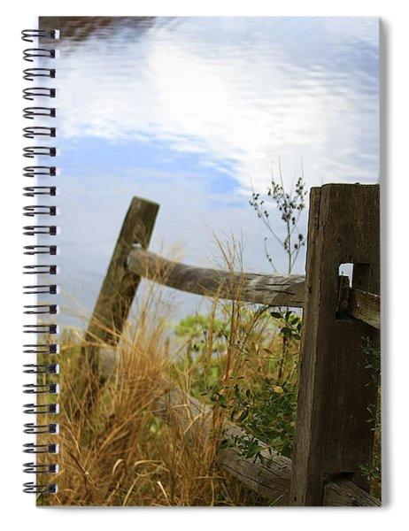 Cloud Reflections Spiral Notebook