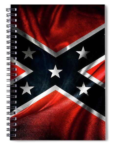 Confederate Flag 1 Spiral Notebook