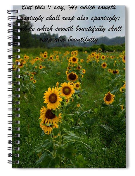 2 Corinthians Spiral Notebook