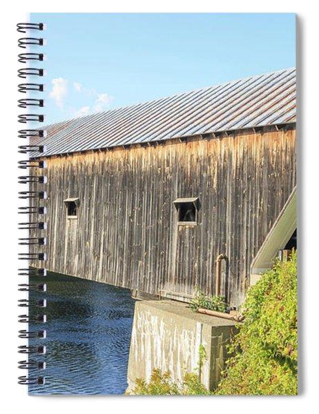 Cornish-windsor Covered Bridge IIi Spiral Notebook