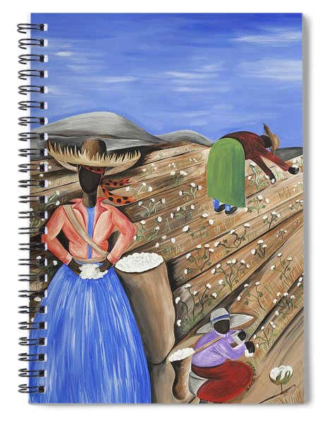 Cotton Pickin' Cotton Spiral Notebook