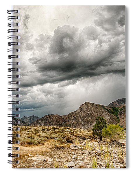 Dark Skies At Grant Lake Spiral Notebook
