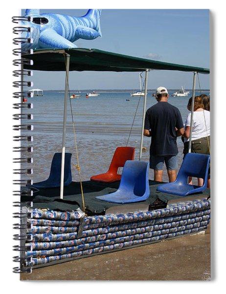 Darwin  City Scenes Spiral Notebook