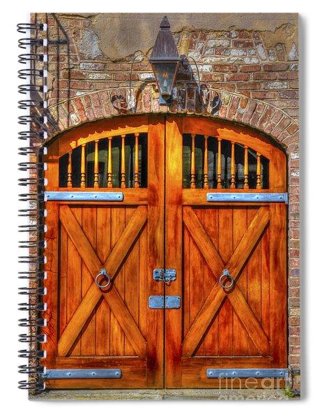 Doors Of Charleston Spiral Notebook