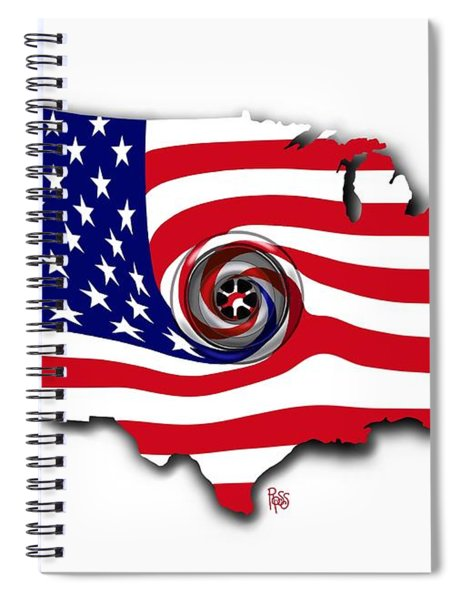 Down The Drain Spiral Notebook