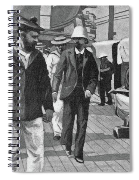 Dreyfus Affair, 1899 Spiral Notebook