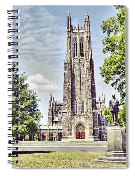 Duke Chapel In Spring Spiral Notebook