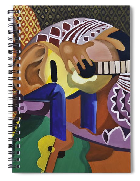 The Guitarist Spiral Notebook