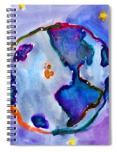 Earth Spiral Notebook