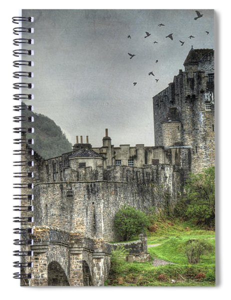 Eilean Donan Castle Spiral Notebook