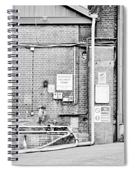 Factory Spiral Notebook