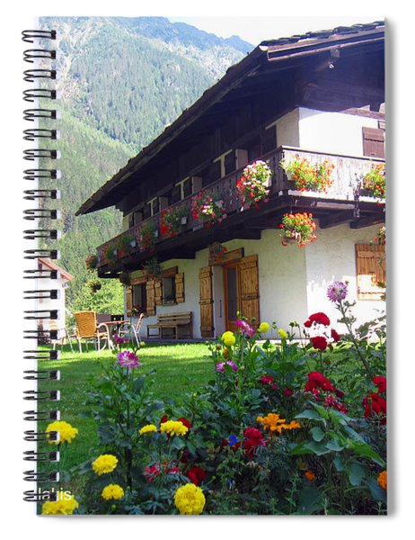 Flowery House Spiral Notebook