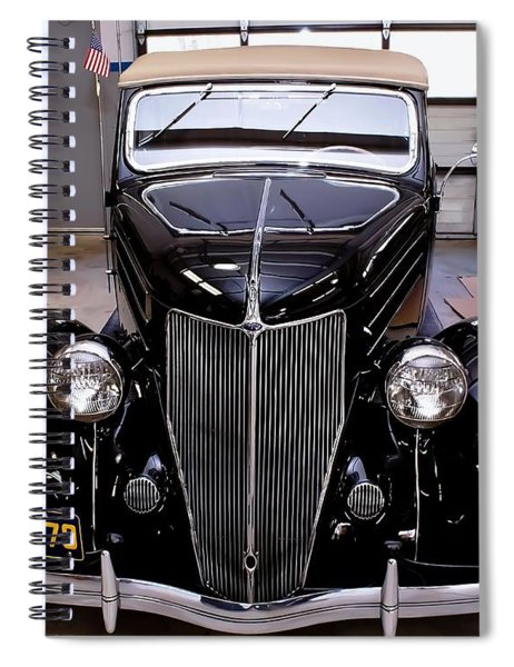 Spiral Notebook featuring the photograph Ford Restoration by Robert L Jackson